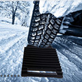 CHUNMU ABS ユニバーサル車のスノーチェーン非スリップタイヤアンチスキッドパッド自動車ホイールグリップトラックマット自動冬のアクセサリー