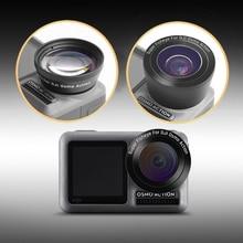 15X Macro Lens/Fisheye Lens HD Anti-Shake Portable Camera Filters for DJI OSMO Action Sports Accessories