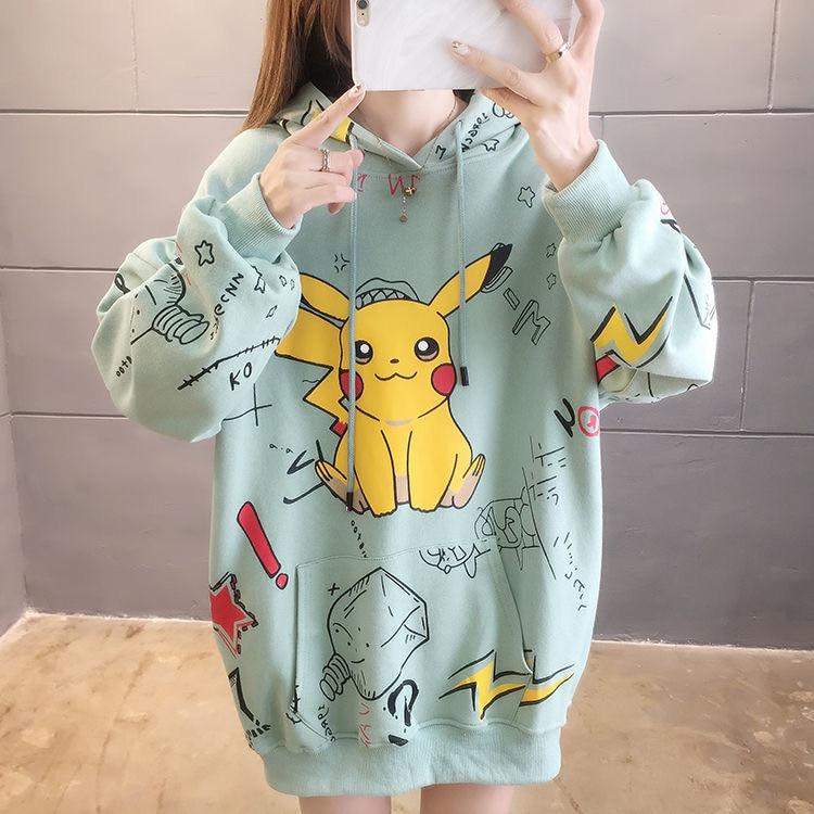 Harajuku Pikachu Hoodie 1