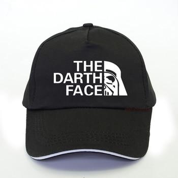 fashion Brand Darth men Baseball Cap Star Darth Wars Funny Dad hat The Darth Face Hat Summer man women darth vader snapback hats лонгслив printio the darth knight