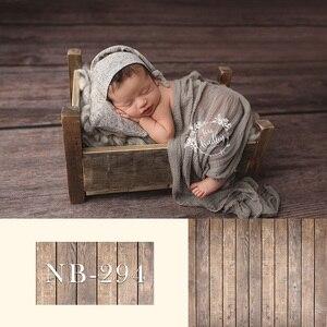 Image 5 - Fondale neonato per la Fotografia Del Bambino Doccia Festa di Compleanno Pavimento In Legno Foto di Sfondo per Bambini In Studio