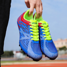 Track and Field Shoes  Spikes Shoes Athletics Men Spring Lightweight Male Running Nails Sneakers Race shoes шиповки для бега отсутствует track and field athletics легкая атлетика учебное пособие
