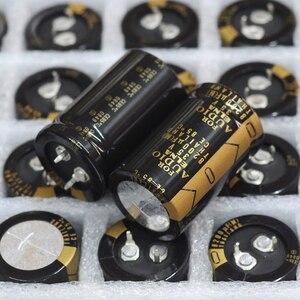 Image 2 - 2PCS החדש תאילנד ELNA 8200uF 35V 25X40 לאו סדרת Supercapacitor 35V8200UF Hifi עבור מסנן מגבר 8200UF35V
