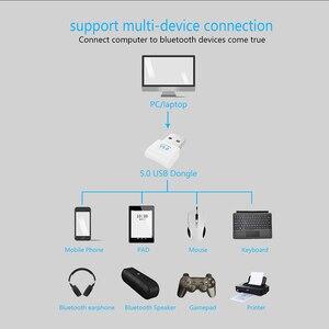 Image 2 - Adaptador de llave electrónica Bluetooth V5.0 con USB para ordenador, portátil, inalámbrico, para música, altavoz, receptor y Transmisor de auriculares