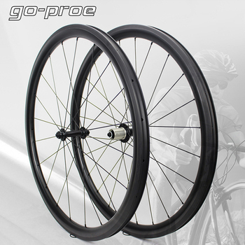 Factory Sale 700c Road Carbon Wheel Super Light Taiwan Powerway R13 Hub 30 35 38 45 47 50 55 60 88 Rim Tubeless Clincher Tubular carbon road wheels 38 clincher 23mm carbono 700c rim u profile rim tubeless compatible for wheelset kits hot selling to belgien