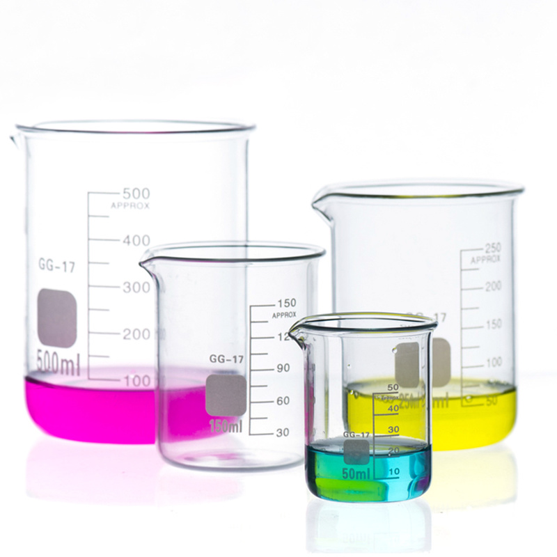 Laboratory Supplies Chemical Beakers Laboratory Glass Beakers Glass 250 Ml Glass Beakers 2000 Ml Capacity
