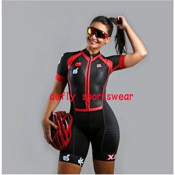 Conjunto de camiseta de Ciclismo de manga corta de triatlón profesional para...