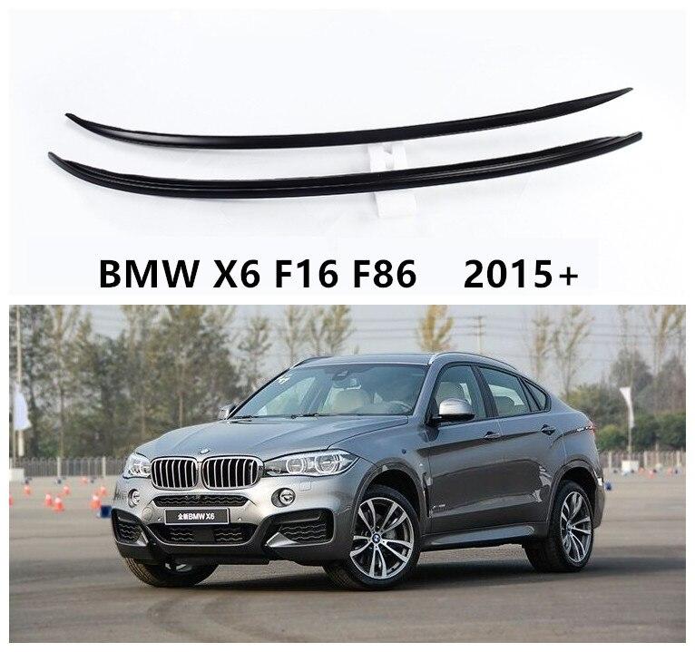 Porte-bagages en aluminium de haute qualité   Pour BMW X6 F16 F86 2015 2016 2017 2018 2019 Installation de pâte, accessoires Auto