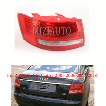 For Audi A6 S6 Quattro 2005 2006 2007 2008 Rear tail light No wire hardness Bulbs Warning Light Brake Light turn signal arashi for bmw r1200gs 2004 2007 e mark brake turn signal tail light rear tail light led light r 1200gs r1200 gs 2007 2006 2005