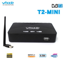DVB T2 DVB TชุดTop Box HD Digital TV Tuner Receptor MPEG4 H.264 Terrestrial TV Receiver Prefix DVB T2สนับสนุนwifi