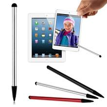 Evrensel dokunmatik kalem çift dokunmatik ekran kapasitif Stylus iPhone iPad kalem aksesuarları dokunmatik kalem Samsung Tablet telefon PC