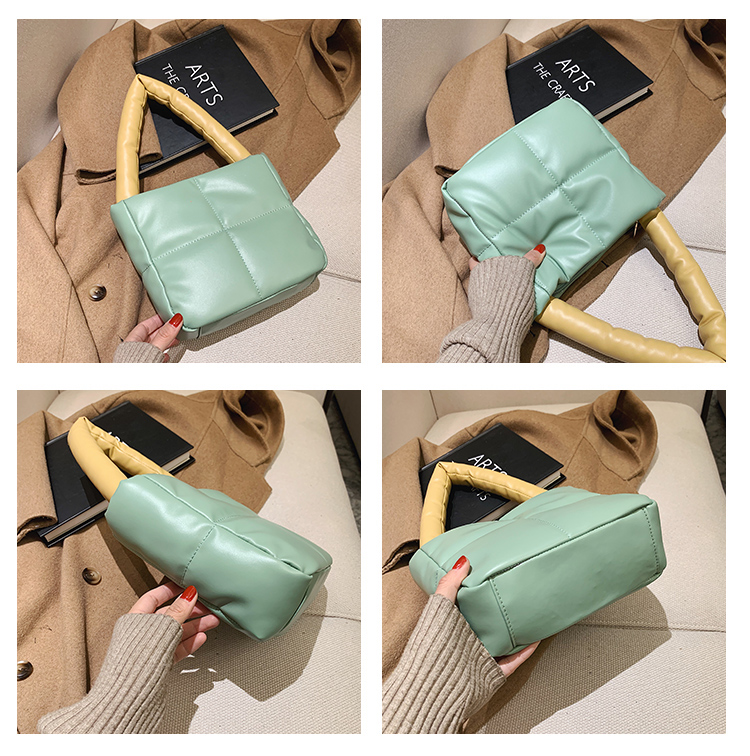 Fashion Winter Soft Fluffy Shoulder Bag For Women Handbags 2021 New Square Casual Totes Female Purses High Quality