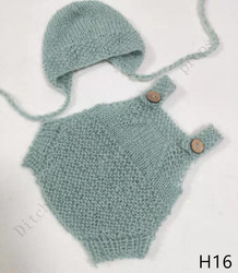 Newborn Photography Props, Pants + Hats, Mohair Woven Props, Newborn Photography Clothing