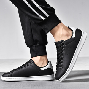 Image 3 - Quatro estações smith sapatos clássicos modelos explosão casal sapatos brancos tendência selvagem antiderrapante sapatos casuais masculinos resistentes ao desgaste