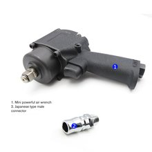 1/2 Inch Mini Pneumatic/Air Impact Wrench Air Car Repairing Impact Wrench Cars Wrenches Tools Heavy Wind Wrench