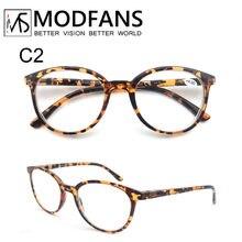 Reading Glasses Women Round Oversized Frame Readers Eyeglasses Lightweight Unbreakable with Spring Hinge Presbyopic Glasses