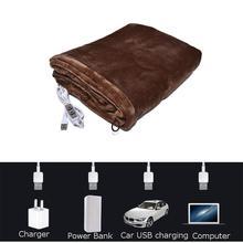 Офисный домашний электрический обогреватель с подогревом через плечо, шаль с подогревом, USB, мягкая, 5 В, 2 А, мягкая, с подогревом, шаль
