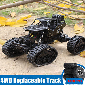 SHAREFUNBAY Toy Car Tracked Remote-Control-Car 4WD Off-Road Child Climbing 1:12