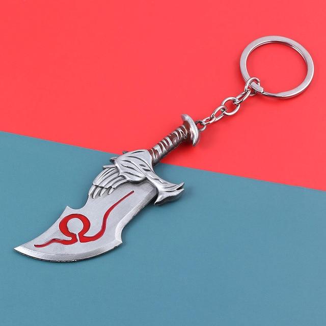 Купить брелок с логотипом бога войны 4 брелок топором ножом мечом olympus