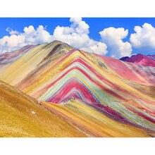 Diy картина по номерам пустыни Раскраска пейзаж 40 х 50 см wall