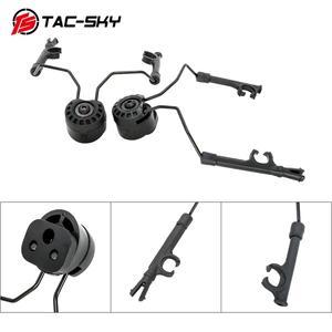 Image 1 - TAC SKY arco capacete ferroviário suporte rápido ops núcleo adaptador ferroviário capacete tático fone de ouvido peltor comtac i ii iii iv suporte tático