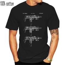Uzi Submachine Gun Shirt Gun Collector Gift Retro Weapons Special Forces