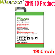 WISECOCO 4950mAh BM39 Battery For Xiaomi Mi6 Mi 6 Mobile Phone In Stock Latest Production High Quality Battery+Tracking Number(China)