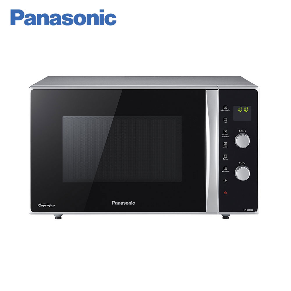 Microwave Ovens Panasonic NN-CD565BZPE timer mini aerogrill panel Inverter Grilling Cooking home kitchen appliances