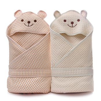 Cotton Muslin Swaddle Blanket Hooded Baby Blanket Muslin Cotton Swaddle Baby Muslin Infant Bebe Organic Cotton Blanket for Kids fox muslin quilt four layer bamboo baby muslin blanket muslin tree swaddle better than aden anais baby blanket infant wrap