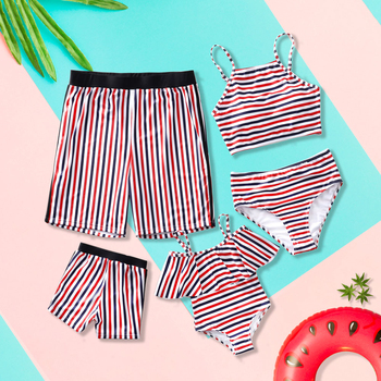 2020 Swimsuit Family Matching Outfits Look Mother Daughter Child Swimwear Women Mommy And Me Bikini Father Son Swimming Shorts leopard swimsuits family matching swimwear mother daughter bikini dad son swim trunks mommy and me family outfits look e0200