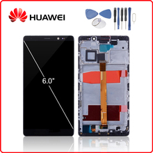 HUAWEI Original Mate 8 LCD Display Touch Screen Digitizer For Huawei Mate8 Display with Frame Replacement NXT-L29 NXT-L09 10pcs high quality lcd display digitizer touch screen for huawei mate 8 mate8 assembly complete replacement frame free shipping