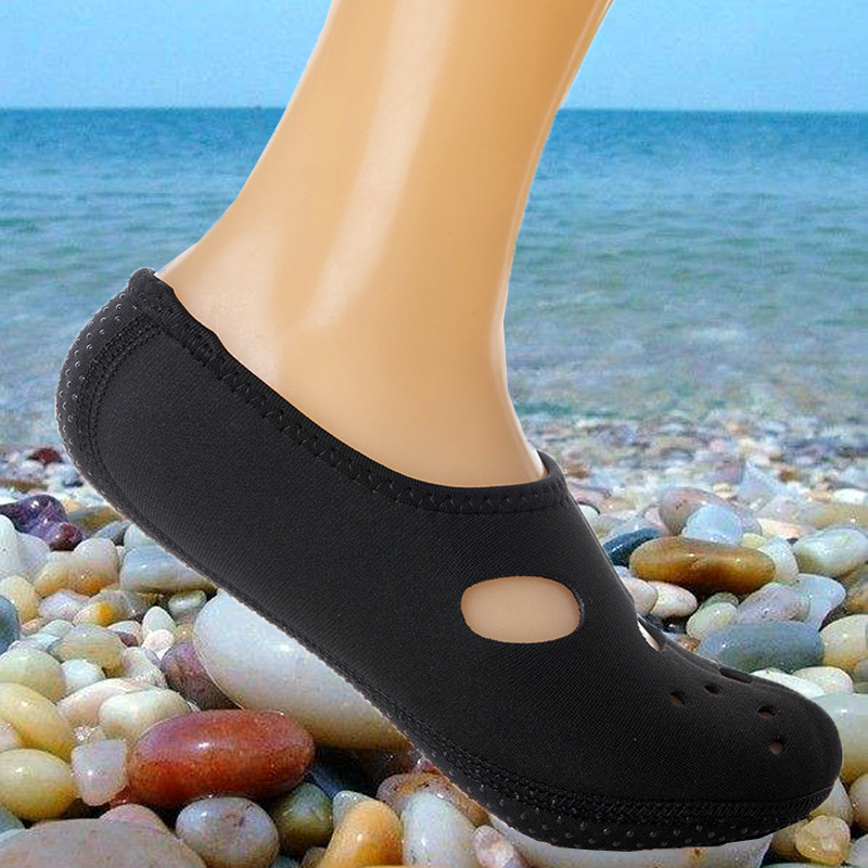 Water Socks Quick Dry Aqua Socks Barefoot Diving Socks Breathable Non-Slip Rubber Sole Swimming Fins For Men Women Diving Beach