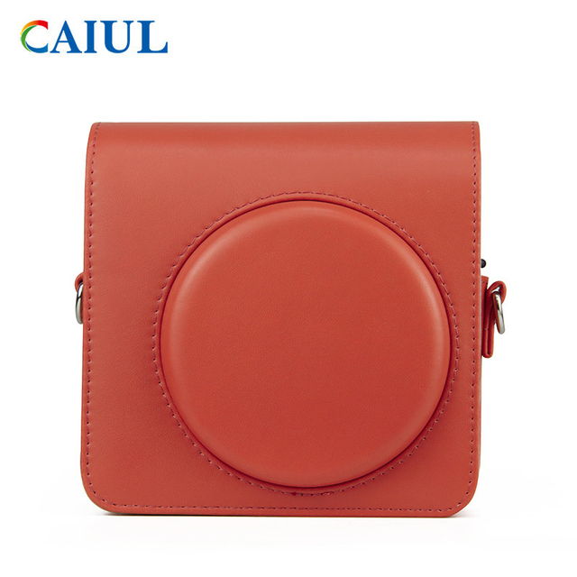 FUJIFILM Instax SQUARE SQ1 Camera Bag 4 colours Vintage PU Leather Case Shoulder Strap Pouch Carry Cover Protection 6