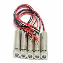 5 шт. 120 градусов регулируемый 650 нм 10 мВт красный лазер диод модуль линия луч свет