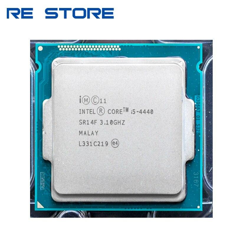 Бывший в употреблении процессор Intel Core i5 4440 четырехъядерный 3,1 ГГц LGA 1150 процессор для настольного компьютера|Процессоры|   | АлиЭкспресс