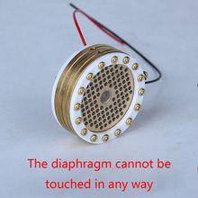 Cápsula de núcleo de cartucho de diafragma grande para micrófono de 34mm para cabeza de micrófono de condensador