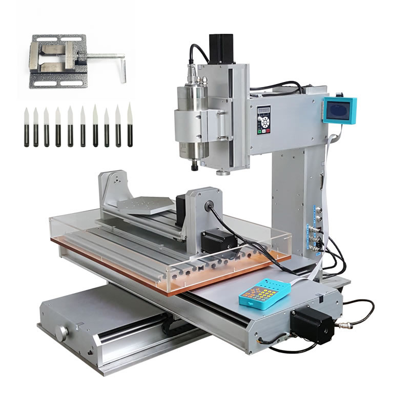 6040 5 Axis Mini Cnc Milling Machine With High Performance, 1500W Cnc Router, Russia Free Tax