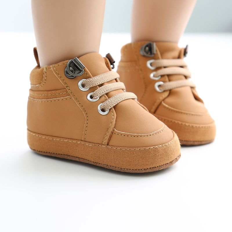 Baby Boy Shoes Newborn Cotton Soft Crib Shoes Sneaker Sport Casual Toddler Shoes Warm First Walkers For 0-18month