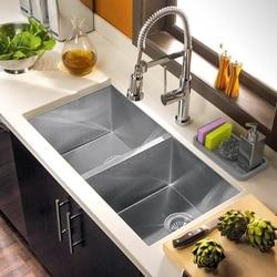 Uchwyt na gąbkę organizer do zlewu kuchennego taca na gąbki  dozownik do mydła  skruber i inne akcesoria do zmywania naczyń w Półki i uchwyty od Dom i ogród na