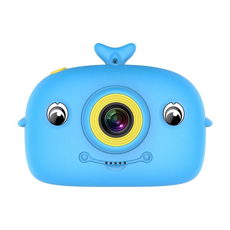 Cartoon 2000W Kids Digital Camera Sports Camera Toy for Boys Girls IPS Screen eye-protection Camera Dual Lens Children's camera