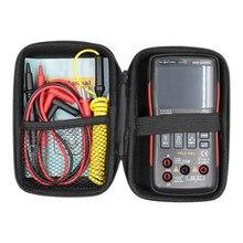 Rm409b com botão do multímetro digital do saco 9999 contagens com gráfico analógico da barra ac/dc tensão amperímetro atual ohm automático/manual
