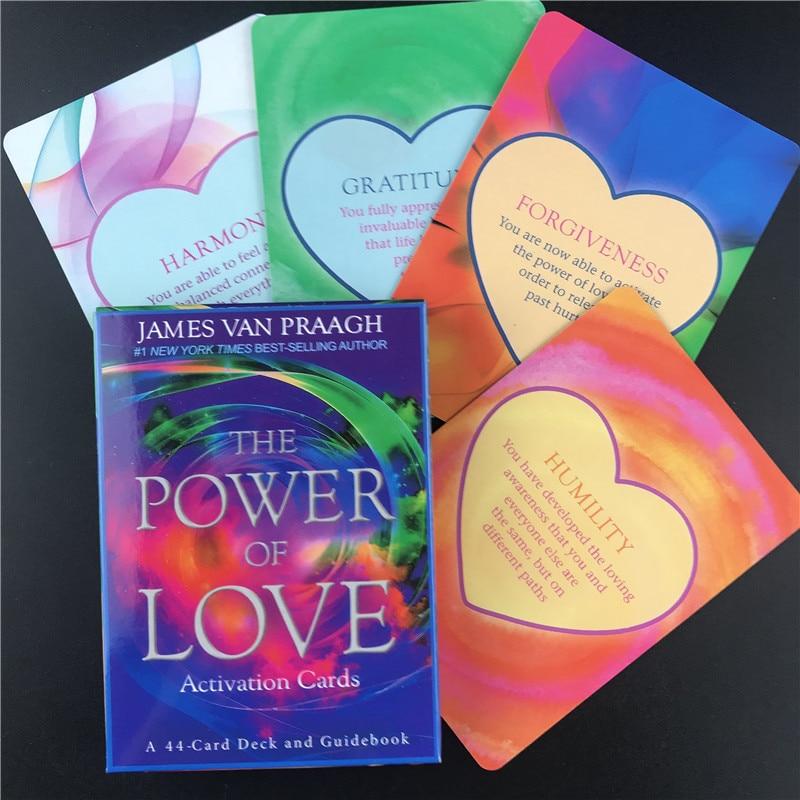 2020 новая мощь любви активационные карты палуба и путеводитель гадание книжка с доской игральные игры карты Таро