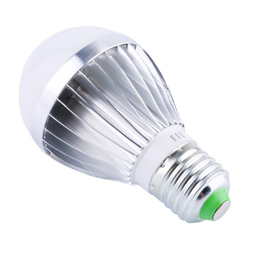 Ultra Bright Low Consumption E27 Sound & Light Sensor Auto PIR Motion Detection LED Light Lamp Bulb For Pathway Garden Stair