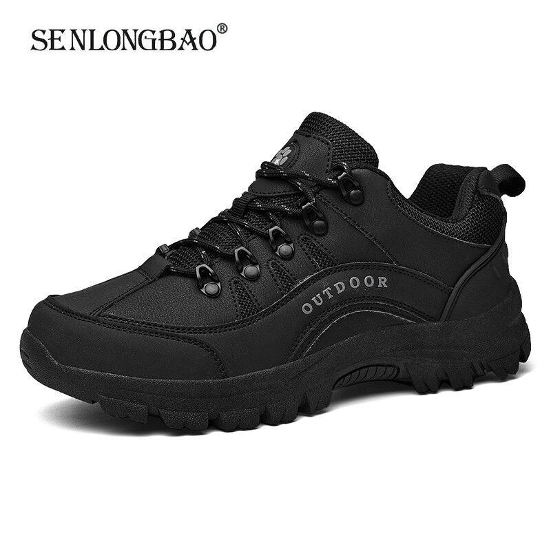 Мужские уличные кроссовки на шнуровке, водонепроницаемые, армейские, повседневные, размеры плюс 38 49, весна 2020|Повседневная обувь|   | АлиЭкспресс