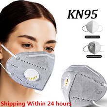 KN95 Protective Reusable N95 Mask Dust Dustproof Protection Anti Virus Face Masks Mouth Safety Facial Filter Mask With Breathing