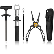 3 in1 Pro Fishing Tool Set Includs Fishing Pliers, Fish Gripper&Fish Hook Remover Decoupling Device