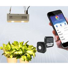 Par ppfd led medidor de luz umol/m2/s hpl200p conexão bluetooth crescer teste de luz