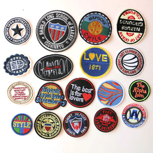 Random mixed delivery A total of 18 icons Cartoon Decorative Patch  Pattern Embroidered Applique Patches For DIY Iron on Badges
