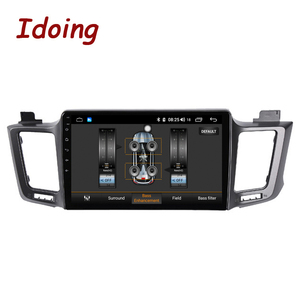 """Image 4 - Idoing 10.2 """"4G + 64G 8 Core Autoradio Android Multimedia Speler Voor Toyota RAV4 4 XA40 5 XA50 2012 2018 Gps Navigatie Geen 2din"""