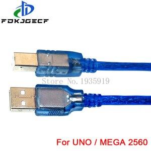 30 см USB кабель для Uno r3/Nano/MEGA 2560/Leonardo/Pro micro/DUE Blue высокого качества USB/Mini USB/Micro USB 0,3 m для Arduino